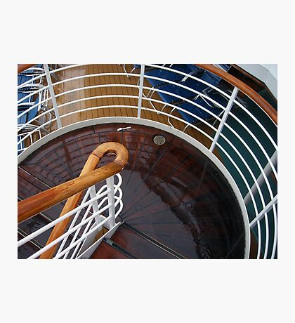 Stairways and Curves  Photographic Print