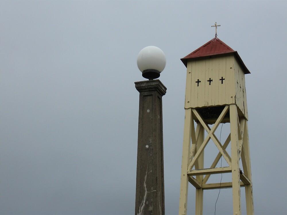 Lamp&Tower by Judy Woodman