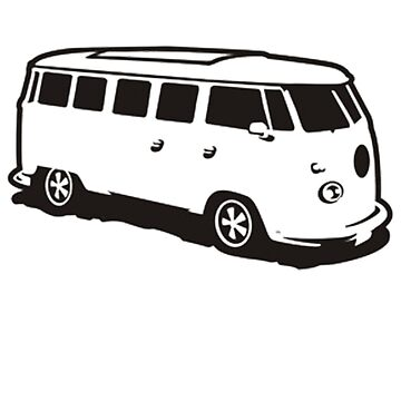 BUS #0001 by thatstickerguy