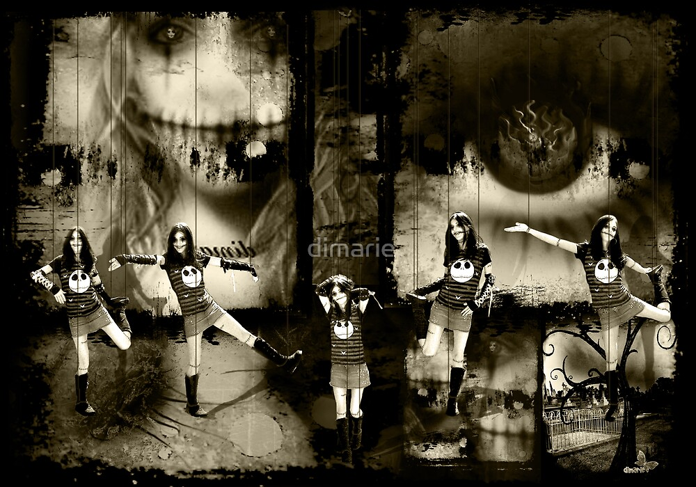 Macabre Polyptych no. 2 by dimarie