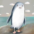 Winter Penguin by Lisa Coutts