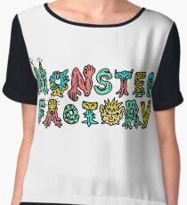 Monster Factory Logo Chiffon Top