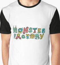 Monster Factory Logo Graphic T-Shirt