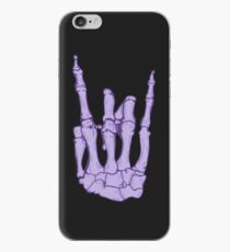Skeleton hand | Lilac iPhone Case