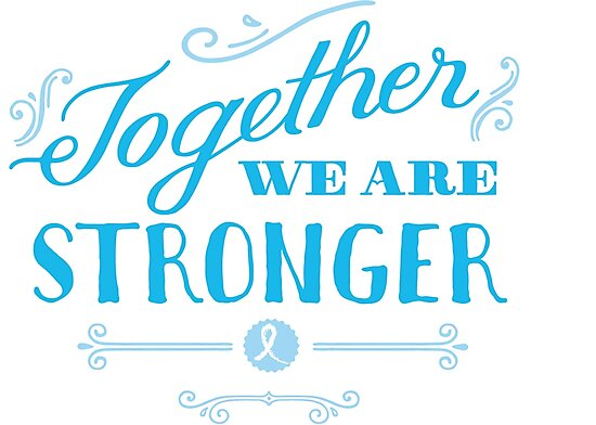 Quot Together We Are Stronger Than Prostate Cancer