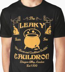 Leaky Cauldron Bar and Inn Graphic T-Shirt