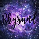 Rhysand - Galaxy  by erinbookdragon