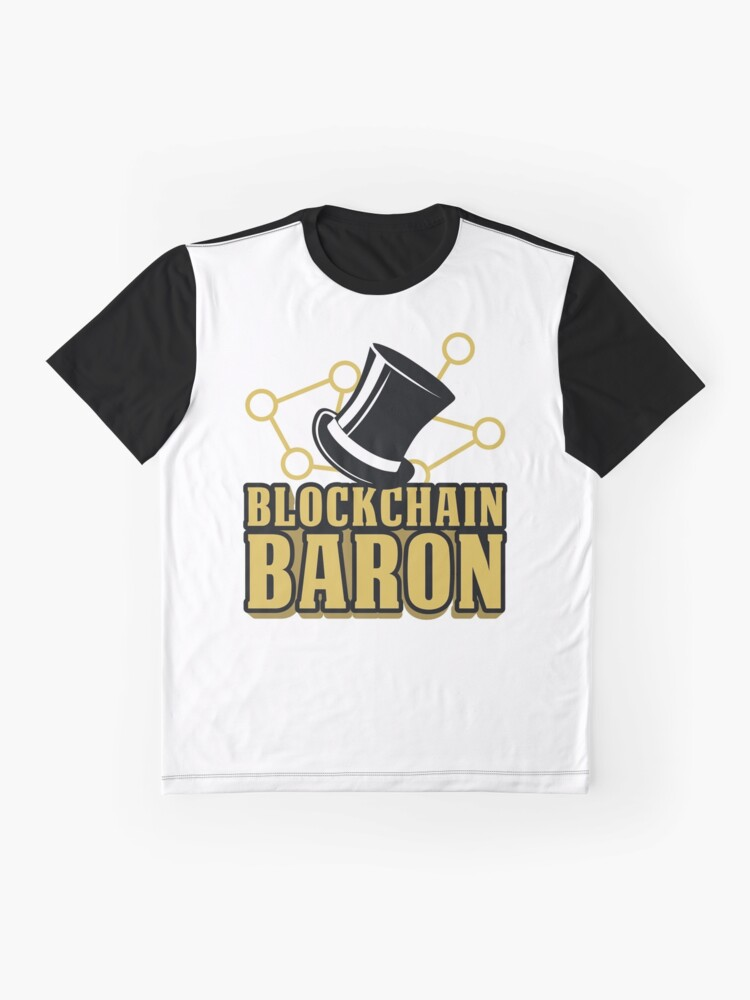 7f559b488 Alternate view of Blockchain Baron Crypto Shirt | Cryptocurrency Hoodie | Bitcoin  Shirts | Crypto Apparel