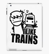 I Like Trains! iPad Case/Skin