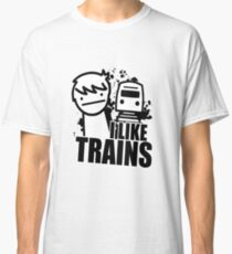 I Like Trains! Classic T-Shirt