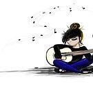 Musical Girl by Abdiellisse Almodovar