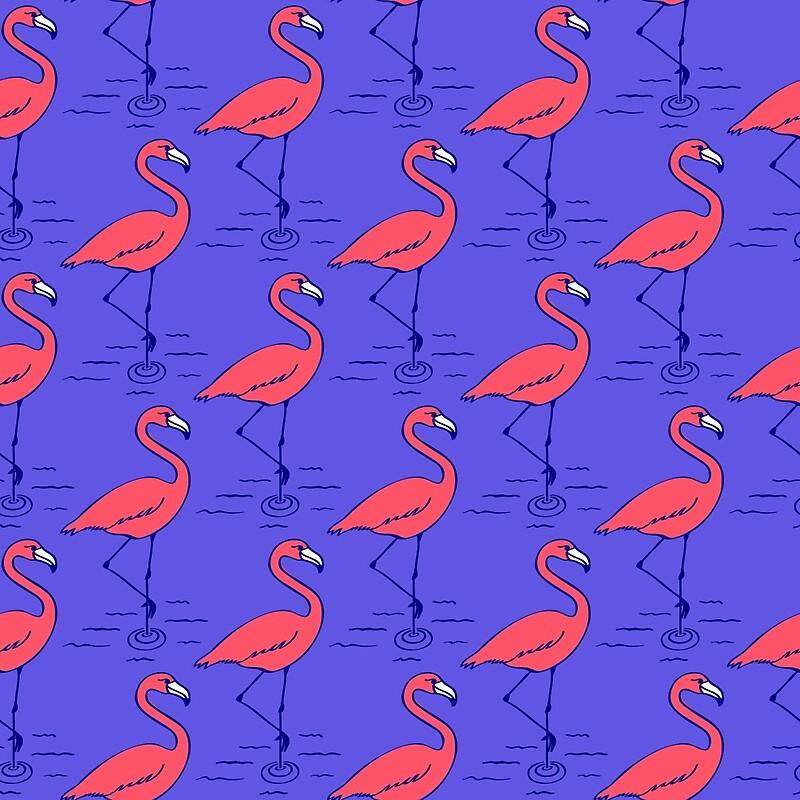 "Dukepope: ""Fifties Flamingo"" By Dukepope"