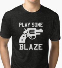 Play Some Blaze Foley Tri-blend T-Shirt