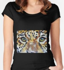Visions of the Jaguar People Women's Fitted Scoop T-Shirt
