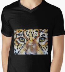 Visions of the Jaguar People Men's V-Neck T-Shirt
