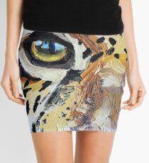 Visions of the Jaguar People Mini Skirt