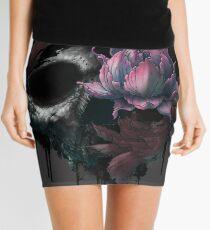Death Blooms Mini Skirt