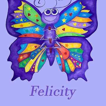 A Yoga Butterfly for Felicity by MonicaArtist