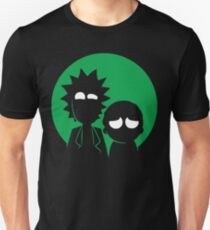 Rick and Morty in Green Unisex T-Shirt