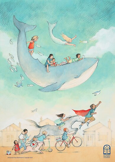 Escape to Everywhere by Freya Blackwood by Children's Book  Council of Australia
