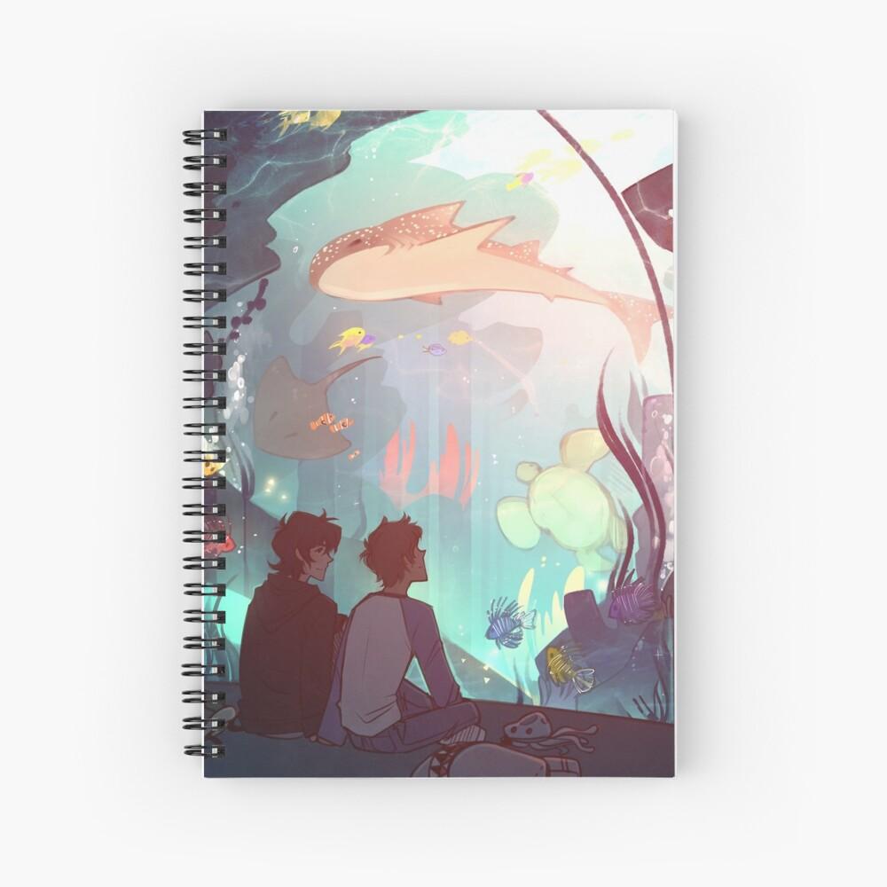 Saltwater Room Spiral Notebook