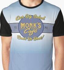 "Monk's Cafe (Seinfeld) - ""Big Salad"" Banner Graphic T-Shirt"