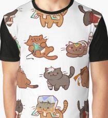 Form Nyaatron! Graphic T-Shirt