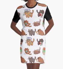 Form Nyaatron! Graphic T-Shirt Dress