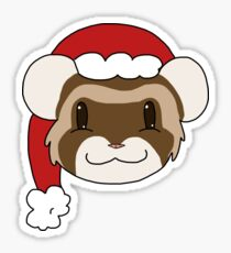 Christmas Dexter Sticker