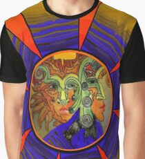 Royal Mystery with Sunset Graphic T-Shirt