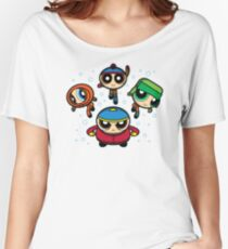 South Park - Powerpuff Girls Women's Relaxed Fit T-Shirt