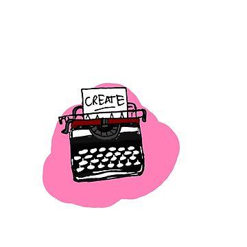 Typewriter by MalloryNoble