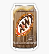 A&W Root Beer Sticker