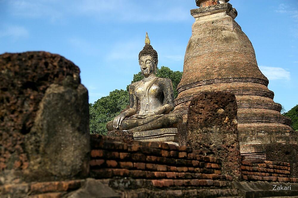 Buddhist Centered Existence by Zakari
