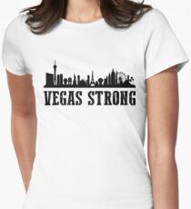 Vegas Strong Women's Fitted T-Shirt