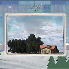 merry christmas :-) greeting card by guy natav
