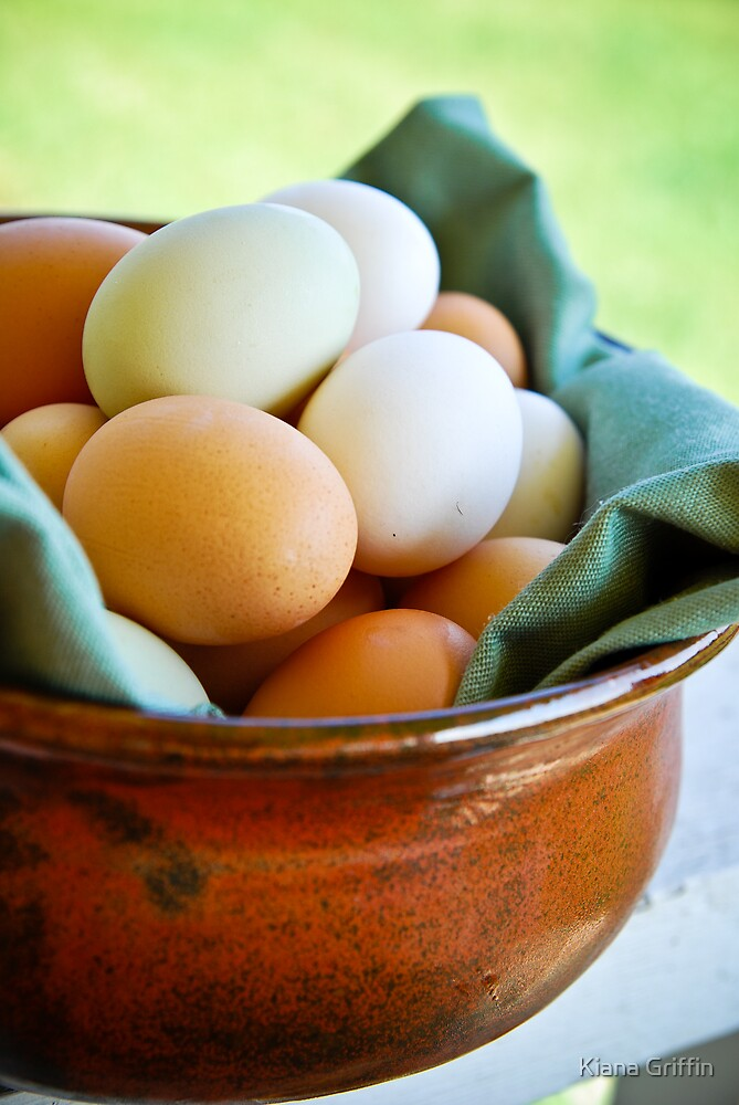 Country Eggs by UpwardImages