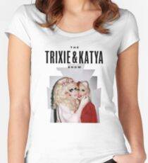 Trixie & Katya Show Women's Fitted Scoop T-Shirt