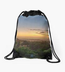 Hunter Valley Sunrise Drawstring Bag