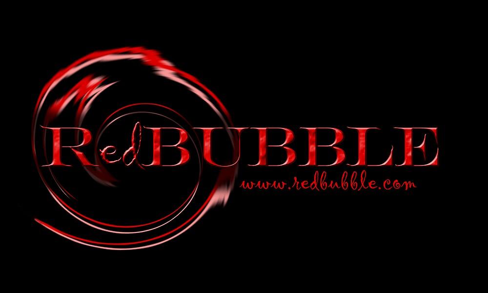 Red Bubble Logo 1 by Jeff Harris