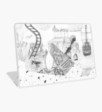 the shifting of times Laptop Skin