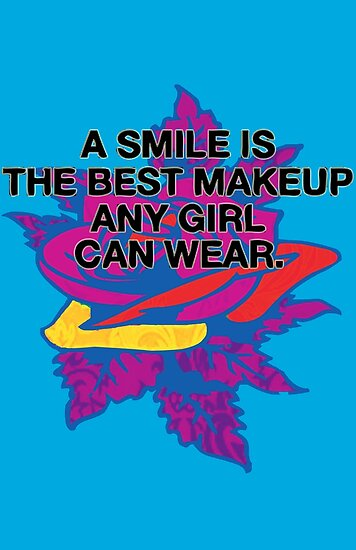 A Smile Best Makeup Girls Wear Posters By Jdamelio Redbubble