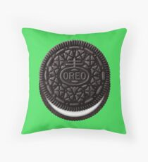 Oreo Cookie Throw Pillow
