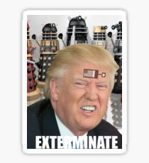 dalek trump Sticker