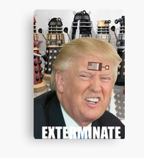 dalek trump Canvas Print