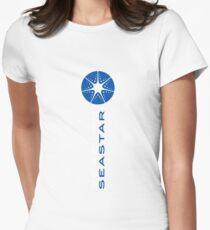 SEASTAR sky Women's Fitted T-Shirt