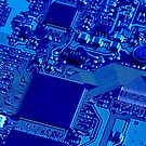Blue Circuit by John Kroetch