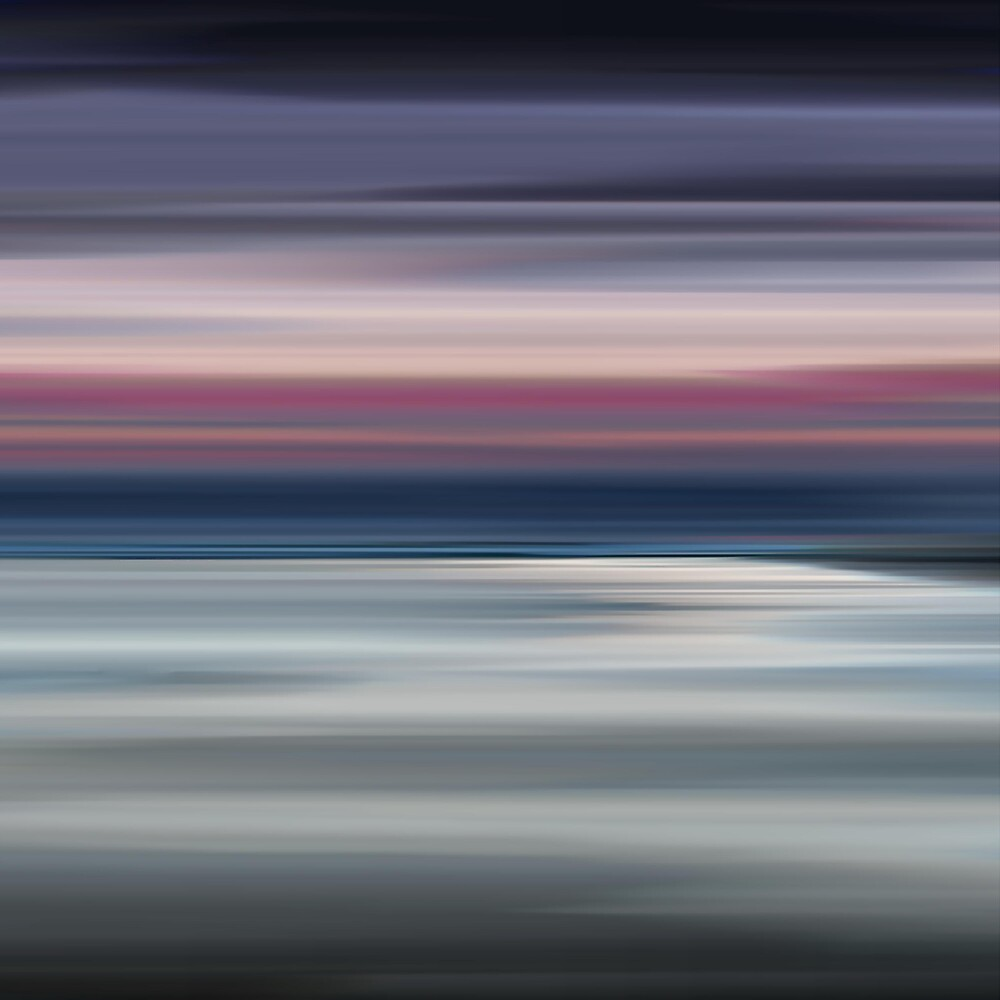 Abstract Seascape 17 by bluefinart