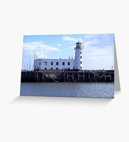 Scarborough Lighthouse. Greeting Card