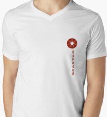 "SEASTAR red ""piccolo"" Men's V-Neck T-Shirt"